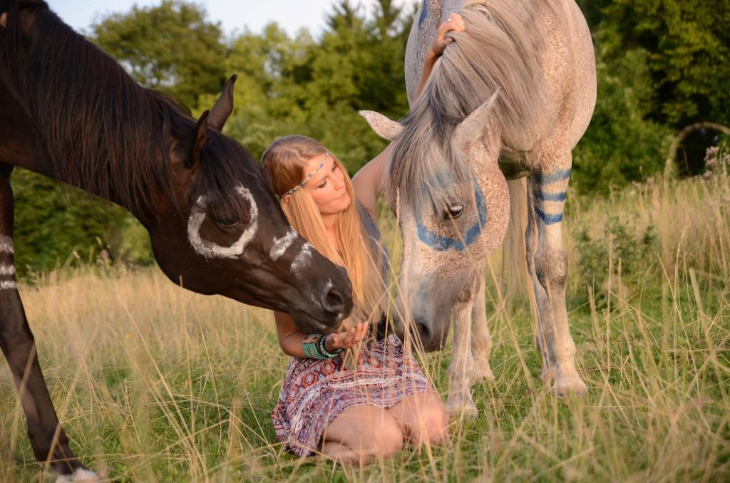 Die Beziehung zu meinen Pferden steht stets an erster Stelle