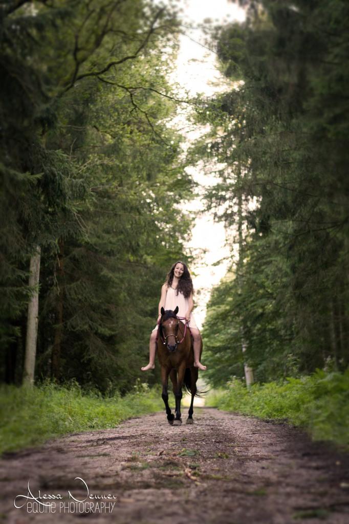 Auf dem Weg in den Wald - Märchenstimmung pur!