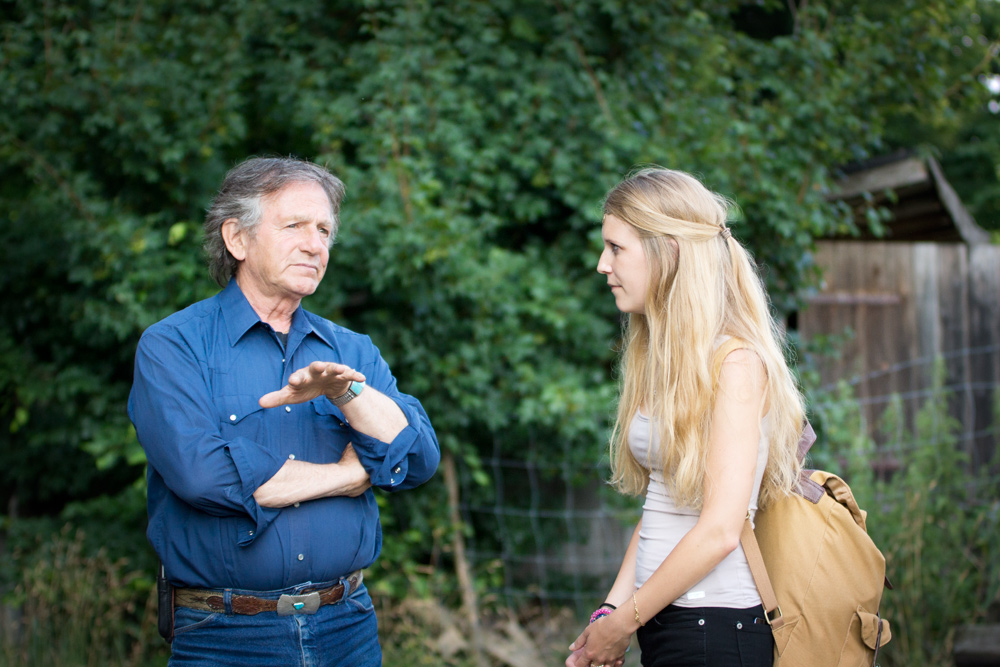 Im Gespräch mit Filmpferdetrainer Mario Luraschi.